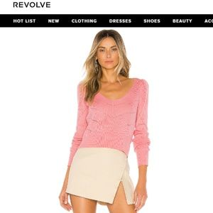 NEW MAJORELLE Alonso Sweater Pink Small
